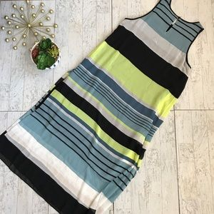 Vince Camuto Dresses - Vince Camuto Stripe Harmony A-Line Dress Small